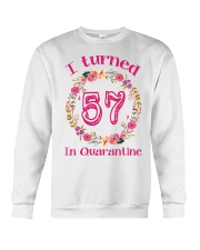 57th Birthday 57 Years Old Crewneck Sweatshirt thumbnail