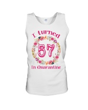 57th Birthday 57 Years Old Unisex Tank tile