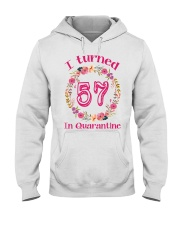 57th Birthday 57 Years Old Hooded Sweatshirt tile