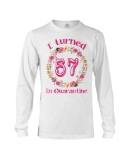 57th Birthday 57 Years Old Long Sleeve Tee thumbnail
