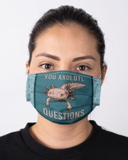 You Axolotl Questions Cloth Face Mask - 3 Pack aos-face-mask-lifestyle-01