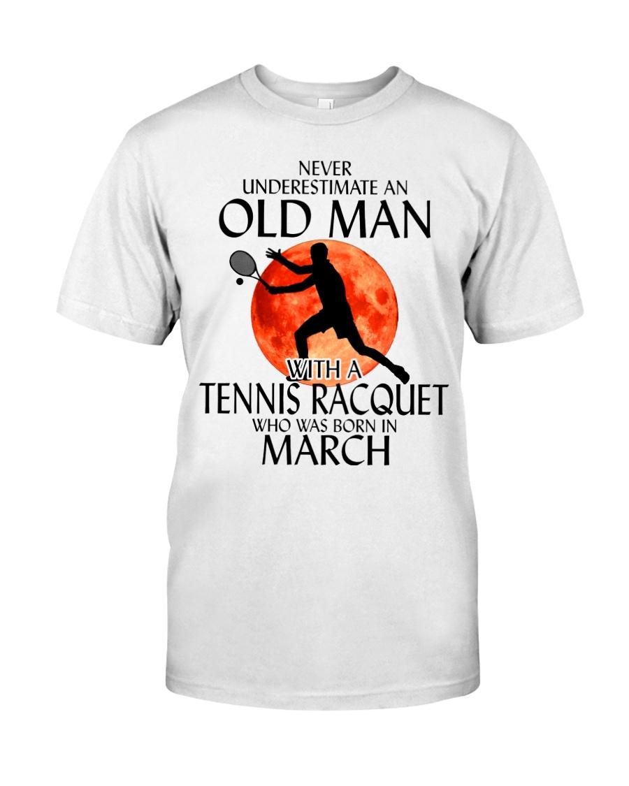 Old Man Tennis Racquet March Classic T-Shirt