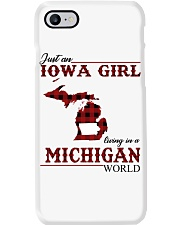 Just An Iowa Girl In michigan Phone Case thumbnail