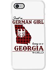 Just A German Girl In Georgia World Phone Case thumbnail