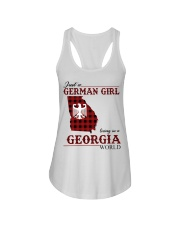 Just A German Girl In Georgia World Ladies Flowy Tank thumbnail