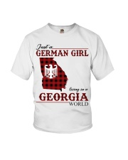 Just A German Girl In Georgia World Youth T-Shirt thumbnail