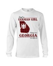 Just A German Girl In Georgia World Long Sleeve Tee thumbnail