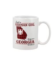 Just A German Girl In Georgia World Mug thumbnail