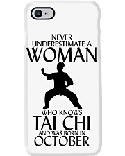 Never Underestimate Woman Tai Chi October  Phone Case thumbnail