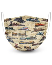 Train Lover 2 Layer Face Mask - Single front