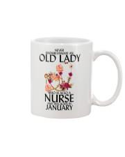 Never Underestimate Old Lady Nurse January Mug thumbnail