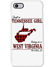 Just A Tennessee Girl In West Virginia World Phone Case thumbnail