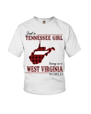 Just A Tennessee Girl In West Virginia World Youth T-Shirt thumbnail