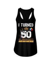 50th Birthday 50 Years Old Ladies Flowy Tank thumbnail