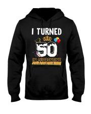 50th Birthday 50 Years Old Hooded Sweatshirt thumbnail