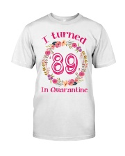 89th Birthday 89 Years Old Classic T-Shirt front