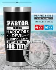 Pastor Personalized 20oz Tumbler aos-20oz-tumbler-lifestyle-front-47