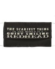 scariest thing in the world is a quiet smiling Mask tile