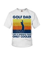 Golf Dad Like A Normal Dad Only Cooler Youth T-Shirt thumbnail