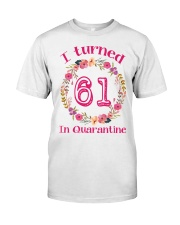 61st Birthday 61 Years Old Classic T-Shirt front