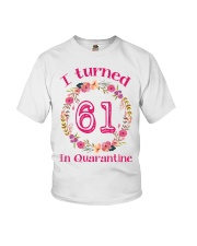 61st Birthday 61 Years Old Youth T-Shirt thumbnail