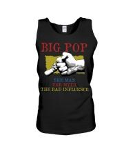 BIG POP The Man The Myth The Bad Influence Unisex Tank tile