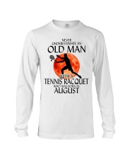 Old Man Tennis Racquet August Long Sleeve Tee thumbnail