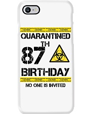 87th Birthday 87 Years Old Phone Case thumbnail