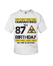 87th Birthday 87 Years Old Youth T-Shirt thumbnail