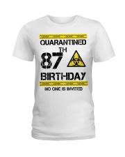 87th Birthday 87 Years Old Ladies T-Shirt thumbnail