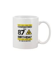 87th Birthday 87 Years Old Mug thumbnail