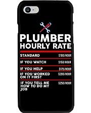 plumber hour shirt Phone Case thumbnail