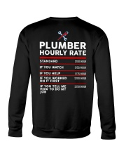 plumber hour shirt Crewneck Sweatshirt thumbnail