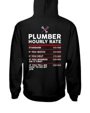 plumber hour shirt Hooded Sweatshirt thumbnail