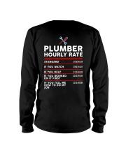 plumber hour shirt Long Sleeve Tee thumbnail