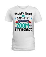 FOURTH GRADE ZOOMING INTO  FIFTH GRADE Ladies T-Shirt thumbnail