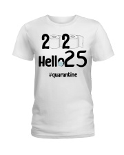 25th Birthday 25 Years Old Ladies T-Shirt thumbnail