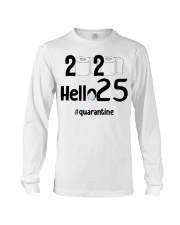 25th Birthday 25 Years Old Long Sleeve Tee thumbnail