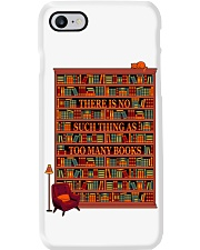 There Is No Such Thing As Too Many Books Phone Case thumbnail