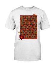 There Is No Such Thing As Too Many Books Classic T-Shirt tile