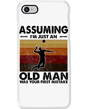 Assuming I'm Just An Old Man Volleyball Phone Case thumbnail