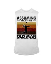 Assuming I'm Just An Old Man Volleyball Sleeveless Tee thumbnail