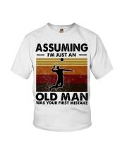 Assuming I'm Just An Old Man Volleyball Youth T-Shirt thumbnail
