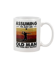 Assuming I'm Just An Old Man Volleyball Mug thumbnail