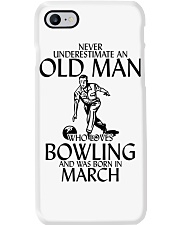 Never Underestimate Old Man Bowling March Phone Case thumbnail