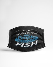 Work Is For People Cloth face mask aos-face-mask-lifestyle-22