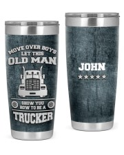 Move over boys -To my husband from wife 20oz Tumbler front