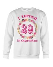 29th Birthday 29 Years Old Crewneck Sweatshirt thumbnail