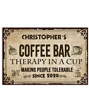 Coffee Bar Therapy In A Cup 17x11 Poster front