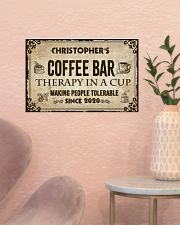 Coffee Bar Therapy In A Cup 17x11 Poster poster-landscape-17x11-lifestyle-22